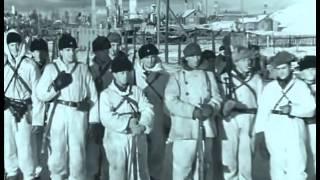 1941 Взятие финнами Кондопоги. военная кинохроника