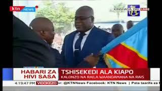 Felix Tshisekedi aapishwa kama raisi wa DRC