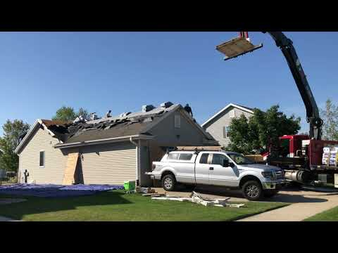 Footage from a Roof Replacement South of Madison