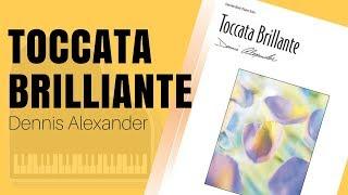Toccata Brillante by Dennis Alexander