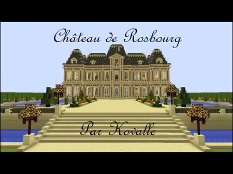 Château De Rosbourg Minecraft Map