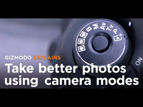 How To Take Better Photos Using Your Camera's Mode Dial