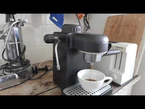 , Krups Model 963 Black Espresso / Cappuccino Maker 4 CUP Steam