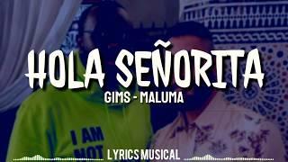 Gims, Maluma   Hola Señorita (maria) Lyrics  Letra