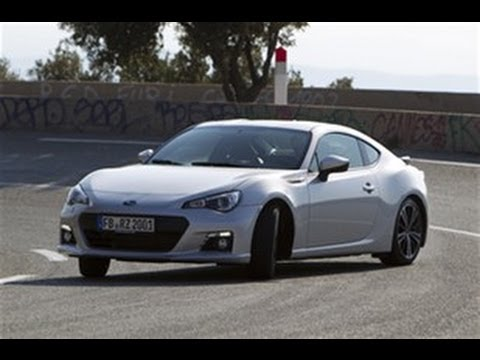 Subaru BRZ flat out test