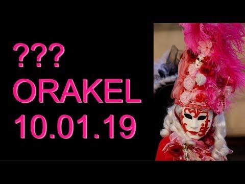 ??? ORAKEL: 10.01.2019 (Donnerstag)
