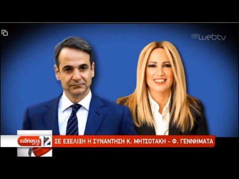 Διάλογος Μητσοτάκη-Γεννηματά   10/01/2020   ΕΡΤ