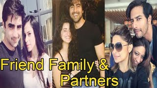 Real Life Friend Family & Partners Of Bepanah Actors