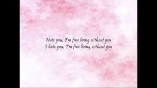 2NE1 - Hate You [Han & Eng]