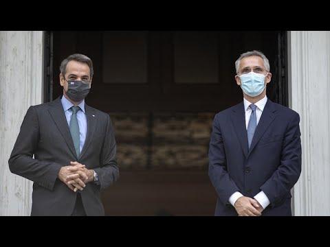 """Κυρ.Μητσοτάκης προς ΓΓ του ΝΑΤΟ: """"Τα γεγονότα στην Αν.Μεσόγειο απειλούν ειρήνη και σταθερότητα""""…"""