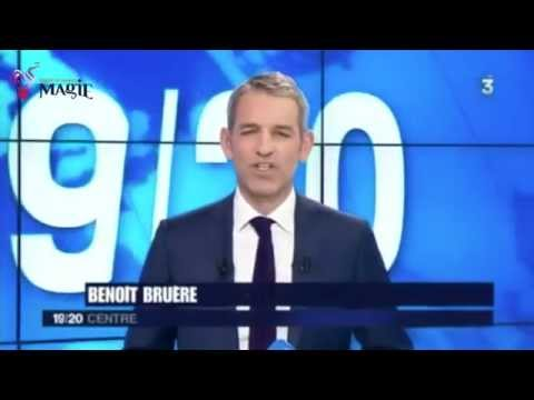 Équipe de France de magie FFAP - Maison de la magie de Blois - JT 19/20 France 3 centre