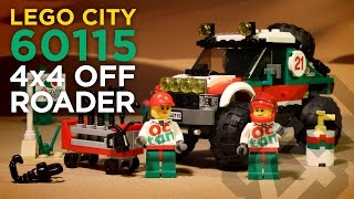 LEGO City 60115 - 4x4 Off Roader (2016) - Stop Motion Build