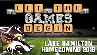2018 Lake Hamilton Football Homecoming Ceremony