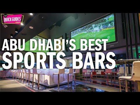 Abu Dhabi's best sports bars in 2019