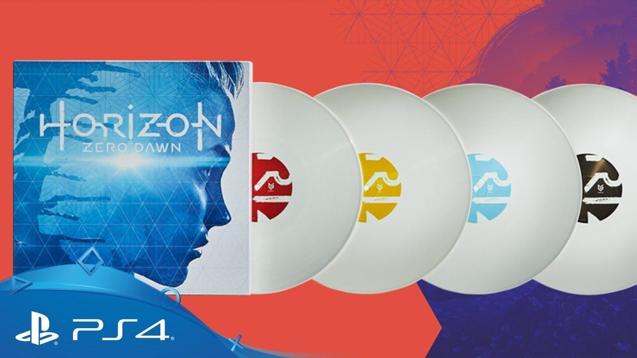 La bande originale de Horizon Zero Dawn est disponible dès le 7 décembre dans un coffret vinyle blanc
