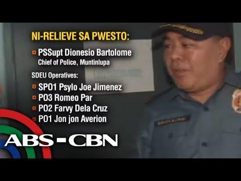 [ABS-CBN]  TV Patrol: 4 pang pulis na dawit sa pangingikil kay 'Madam' tinutugis; hepe sinibak din