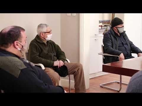 Petrecca recibió a representantes de iglesias
