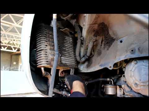 Замена клапана вариатора на радиатор  Nissan Murano Z51 Ниссан Мурано 2020 года