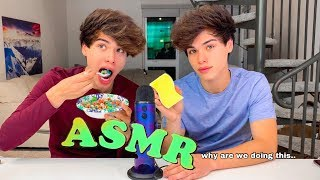 Twins Try ASMR For The First Time