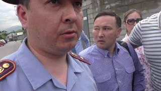 Ментовской произвол в Алматы #шалкет