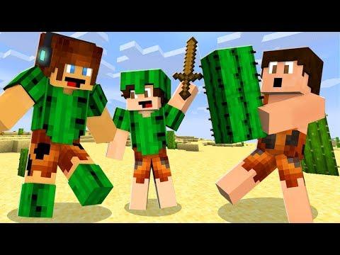 ARMADURA DE CACTO !! - Minecraft Primitivo #16