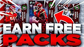 HOW TO EARN FREE PACKS IN MADDEN 21 ULTIMATE TEAM!! | MUT REWARDS GUIDE MADDEN 21!!