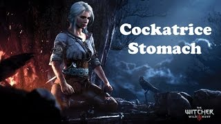 The Witcher 3: Wild Hunt Cockatrice Stomach