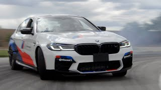 [MotorTrend] Fan Gets to Drift in a BMW M5!   MotorTrend x Continental Tire Home Delivery Ep. 3