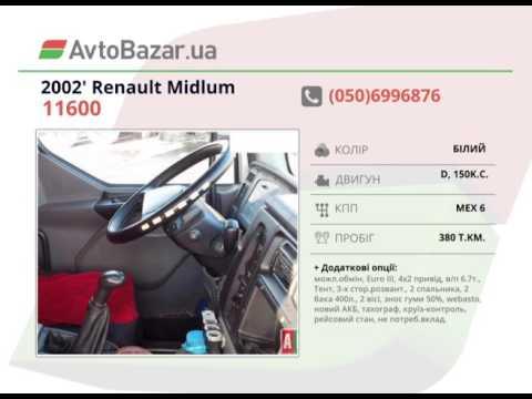 Продажа Renault Midlum