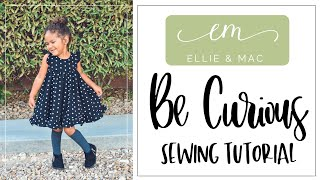 Curious How Easy This Dress Sewing Pattern Is?  Come Find Out!