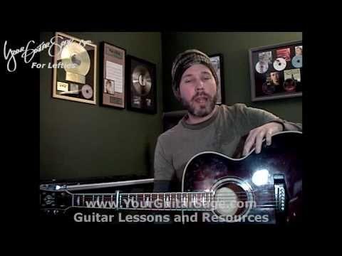 Hallelujah (Shrek) - Rufus Wainwright - Lefty Beginner Acoustic Guitar Lesson