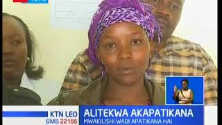 Mkewe mwakilishi wadi 'aliyetekwa' nyara asimulia masaibu yake