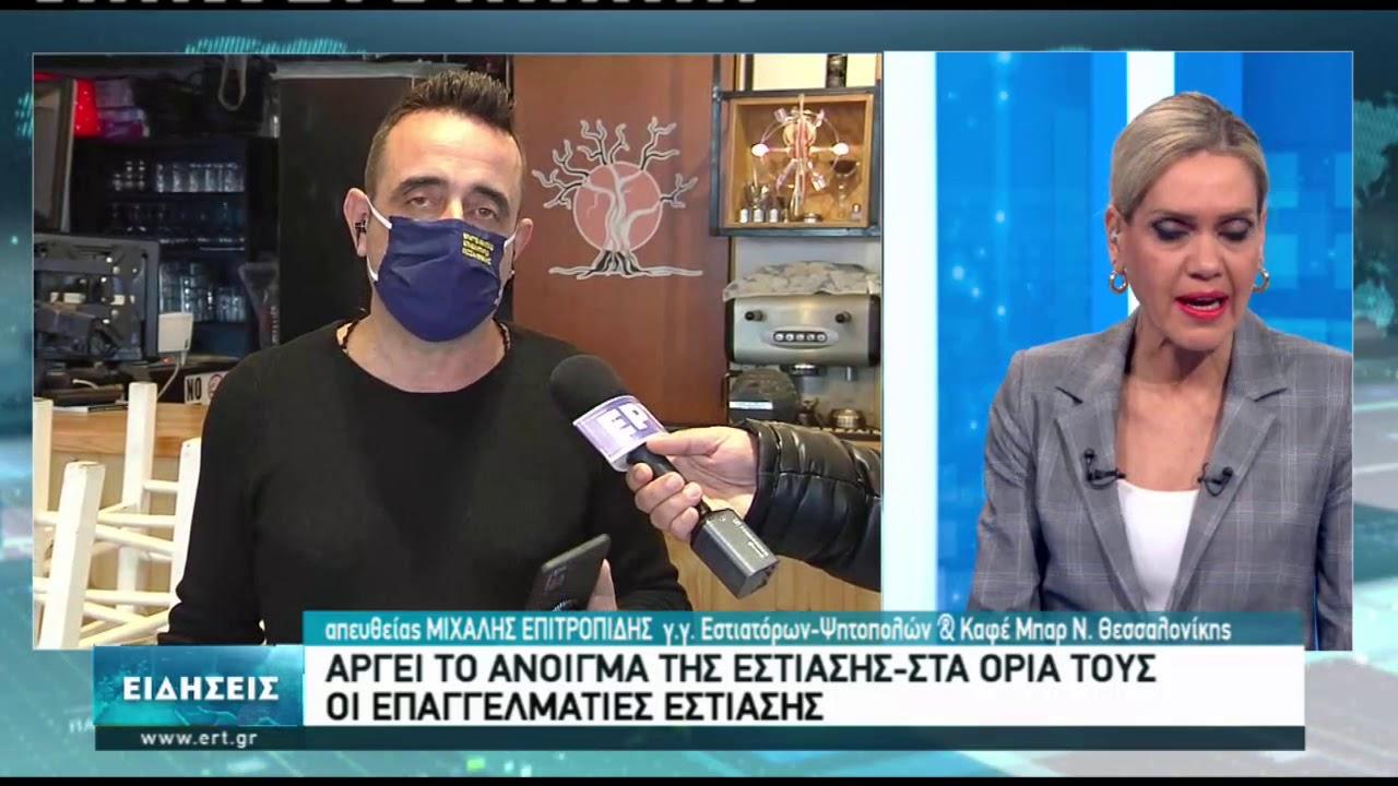 Μ. Επιτροπίδης :Η εστίαση δεν μπορεί να ανοίξει και να ξανακλείσει | 20/01/2021 | ΕΡΤ