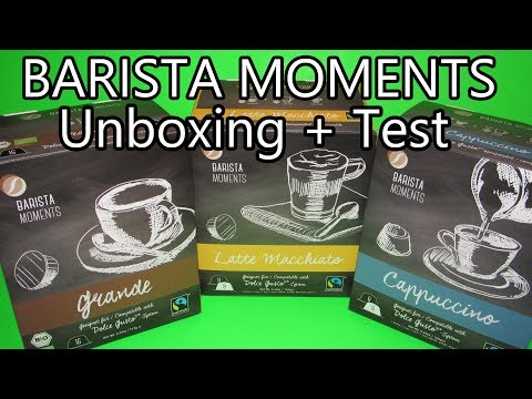 Dolce Gusto Kapseln Alternative: Barista Moments Unboxing + Test