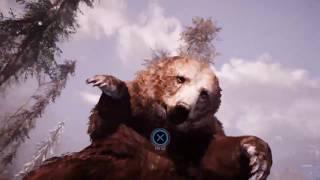 Friday Caveman Love (with bear mauling!)