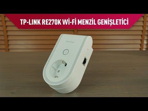 TP-Link RE270K AC750 Akıllı Prizli Wi-Fi Menzil Genişletici İncelemesi
