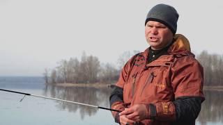 Ловля крупного окуня на отводной поводок в ноябре