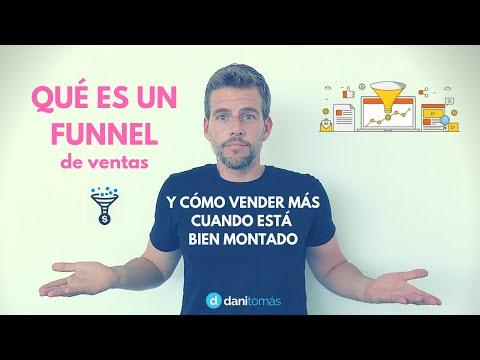 ¿Qué es un Funnel de Ventas?, y cómo montarlo para vender más.[;;;][;;;]