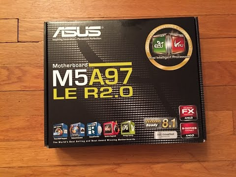 Asus M5A97 LE R2.0 Unboxing and Review!!!