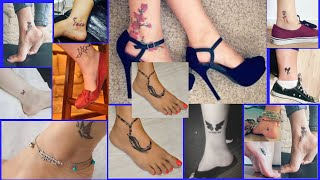 Ankle Tattoos For Women: Best Ankle Tattoo Designs That Will Flaunt Your Walk - Fashion Wing