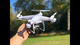 JJRC H68 720P WiFi FPV Quad Unboxing and Flying