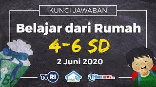 Jawaban Belajar dari Rumah di TVRI Kelas 4-6 SD Selasa 2 Juni 2020, X-Sains: Siklus Air