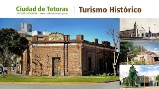 preview picture of video 'Turismo Histórico en Totoras Santa fe - Argentina'