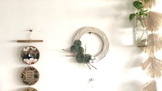 DIY Boho Macrame Wreath| Macrame Wall Hanging| Bohemian Decor| Crafts| Home Decor Moods