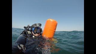 Ловля мидии в черном море