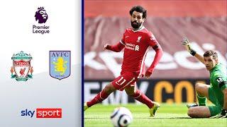 Später Treffer sichert Reds' Sieg | FC Liverpool - Aston Villa 2:1 | Highlights - Premier League