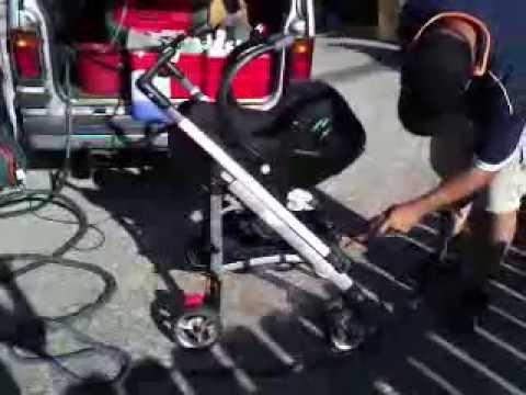 Καθάρισμα και απολύμανση του καροτσιού με ατμό