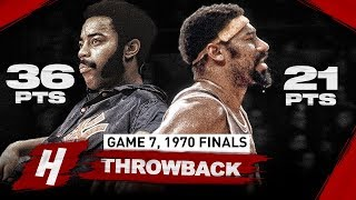 Walt Frazier vs Wilt Chamberlain LEGENDS Game 7 Duel Highlights 1970 NBA Finals - MUST WATCH!