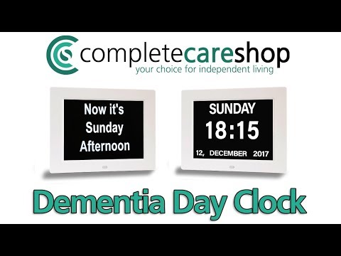 Regain Independence !! - The Dementia Day Clock
