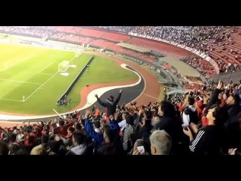 """""""Hinchada Sabalera en Brasil / Sao Paulo 0-1 Colón / Sudamericana 2018"""" Barra: Los de Siempre • Club: Colón"""